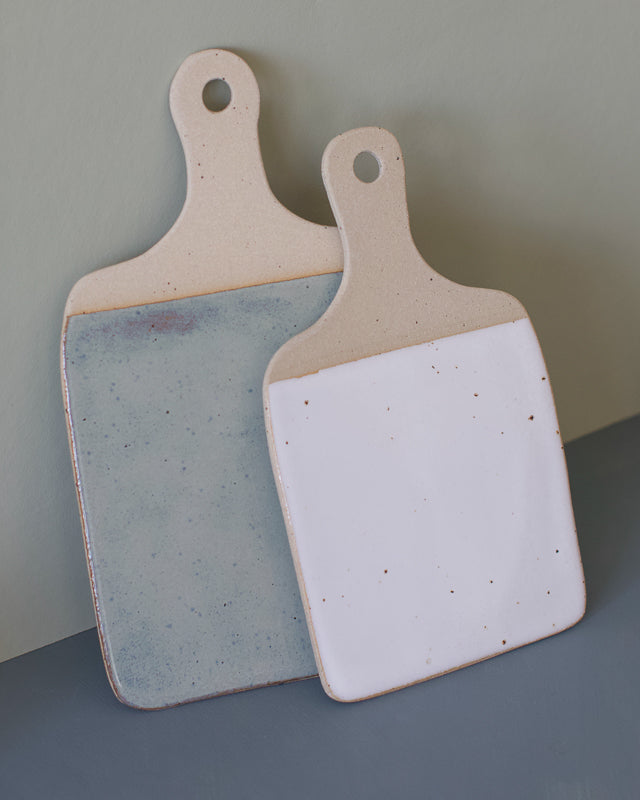 cheese board handmade with clay perfect for a platter by the super sparrow