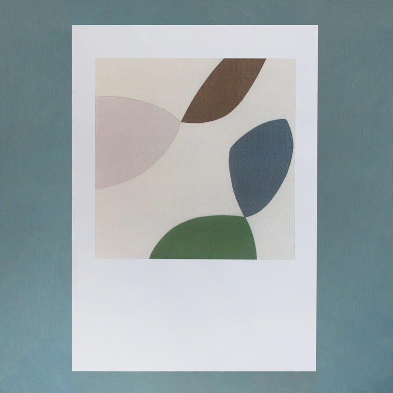 limited edition block colour shape artwork print by india copley