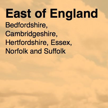 Over 45,000 East of England Email and Business data
