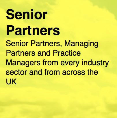 2,000 UK Senior Partners - Email and Business data