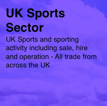 UK Sports based businesses - Email and Business data