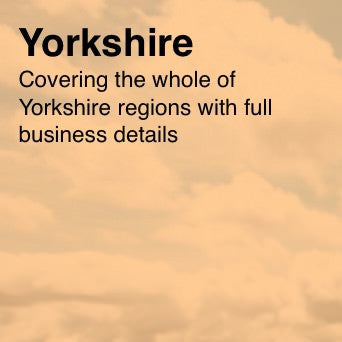 Over 28,000 Yorkshire based businesses with Email and Business data