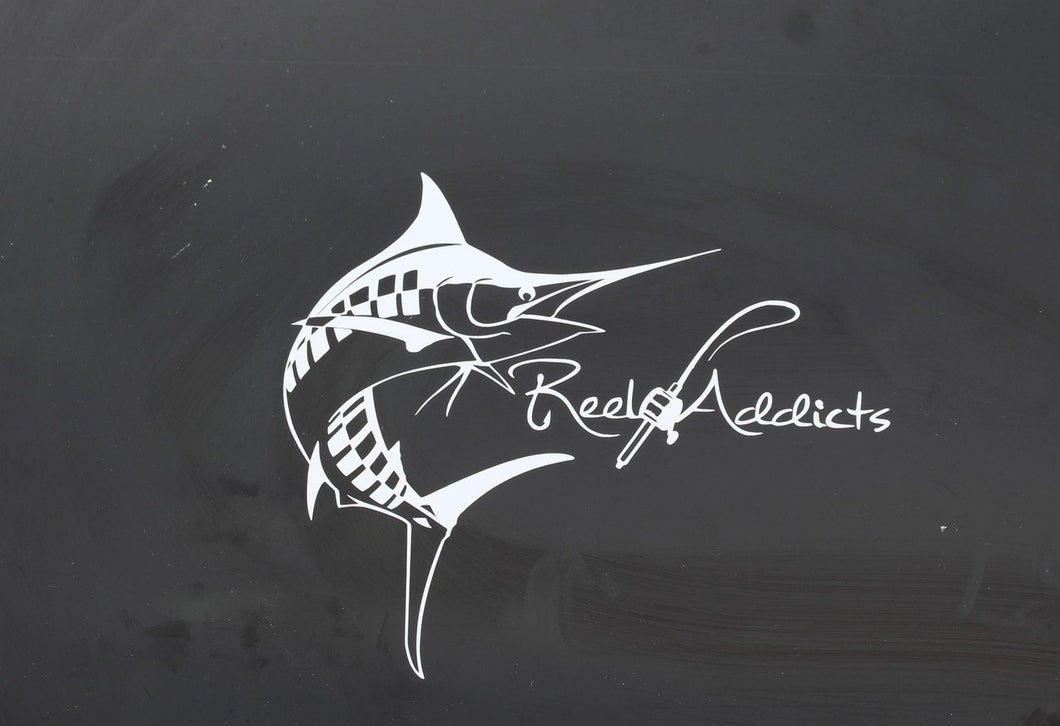 Marlin Curved Decal