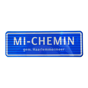 MI-CHEMIN Informational Road Sign