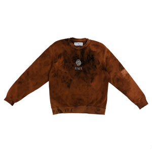 BLEACHED FACE LOGO SWEATSHIRT (LIMITED)