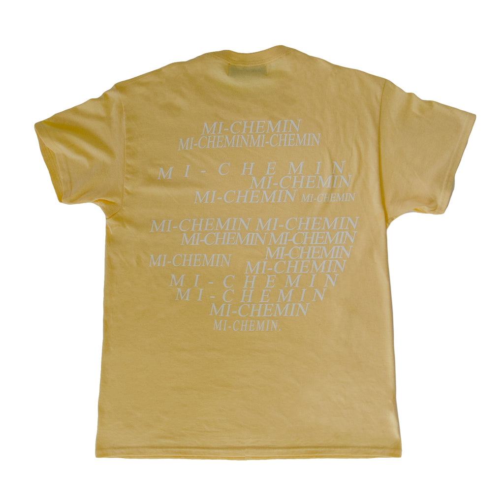 CONNECTIONS TEE NATURE YELLOW