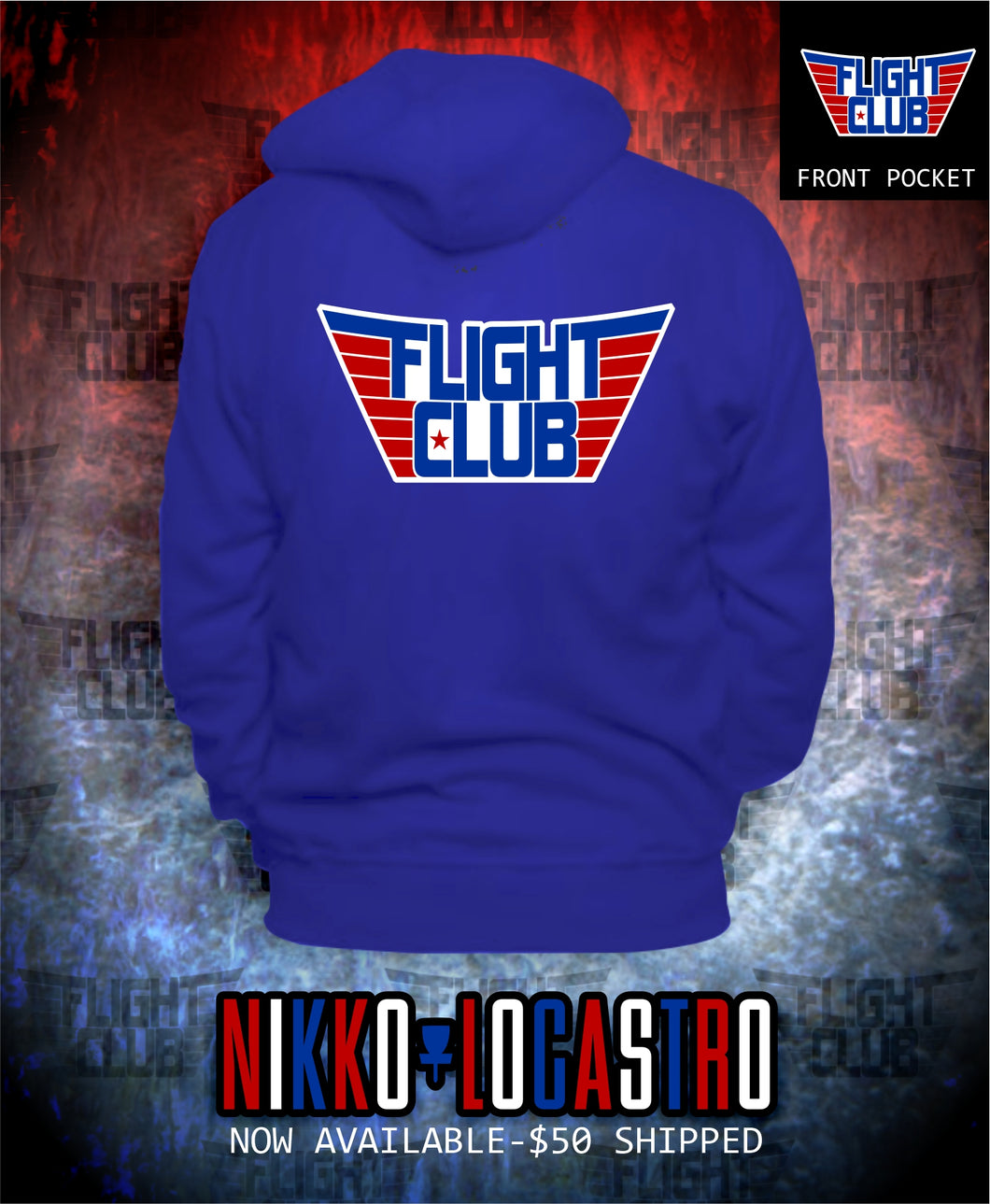 FLIGHT CLUB Hoodie USA