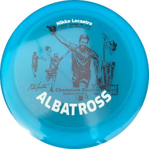 ALBATROSS BOSS - Limited Edition • 2X Foil Stamp & Signature