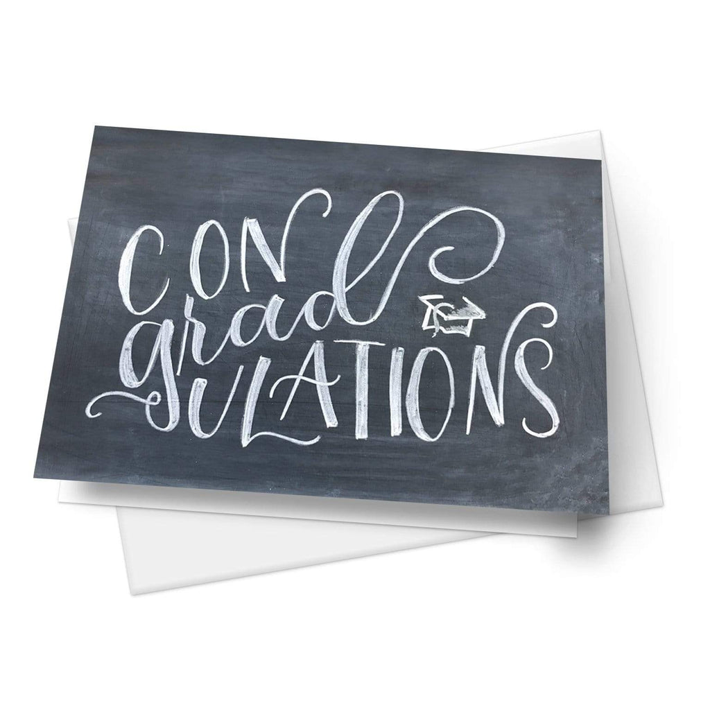 Summit View Designs Con GRAD ulations! | Set of 10 Folded Greeting Cards
