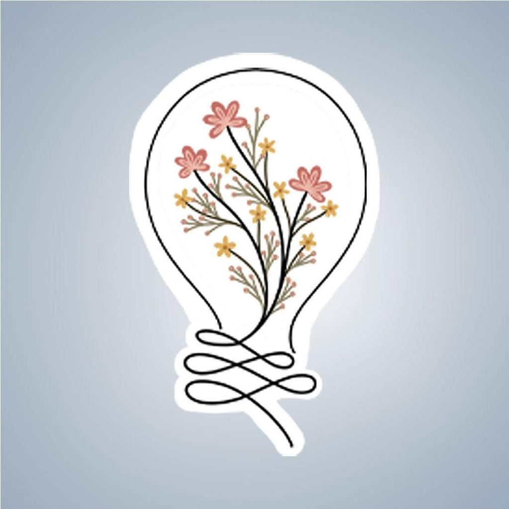 Summit View Designs Sticker Floral Light Sticker