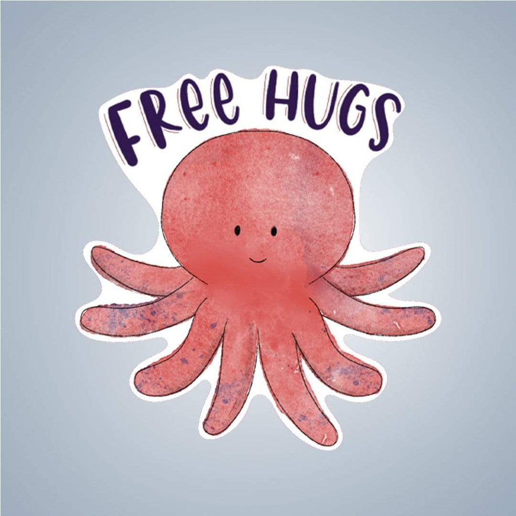 Summit View Designs Sticker Free Hugs Sticker