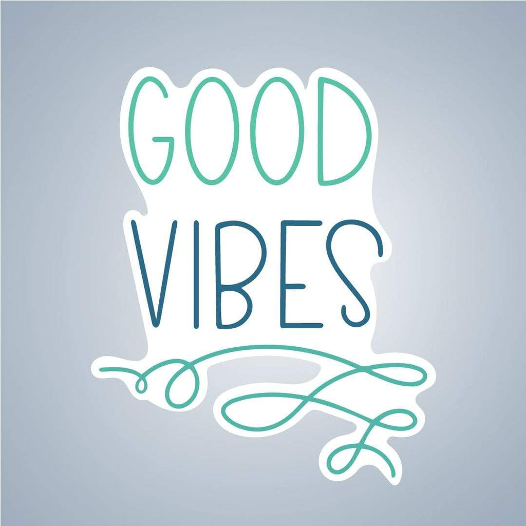 Summit View Designs Sticker Good Vibes Inspirational Sticker