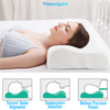 Thebodyaid ProSleeper Orthopedic Memory Pillow. With its 3-curve design, it'll give you the restful sleep you need.