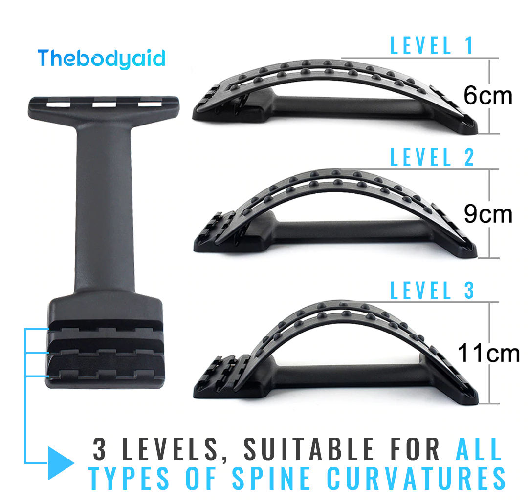 THEBODYAID™ Back Relief Stretcher Pro