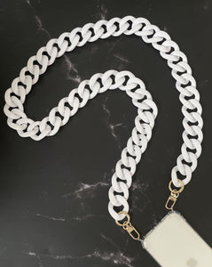 Single Chain White Matte