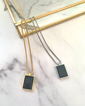 Load image into Gallery viewer, Rectangle necklace