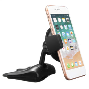 Qi Wireless Charger Car Charging CD Slot Holder Mount Stand