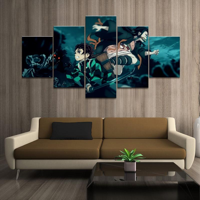 Kimetsu no Yaiba Wall Art