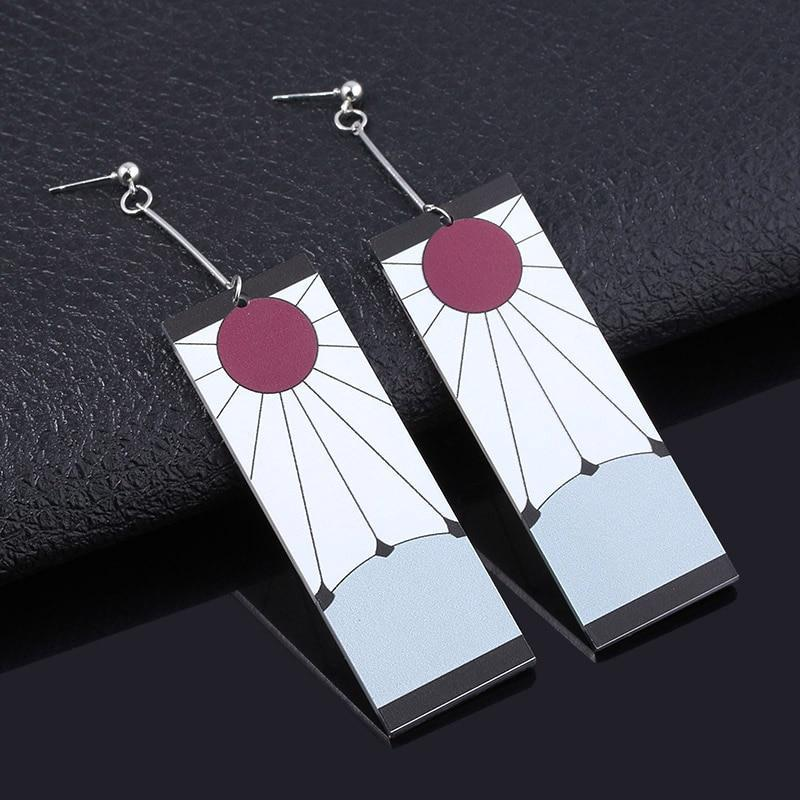 Beautiful Tanjiro Earrings Demon Slayer Shop There are 12 tanjirou earrings for sale on etsy, and they cost $85.28 on average. beautiful tanjiro earrings demon