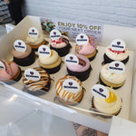 Load image into Gallery viewer, Branded Cupcakes