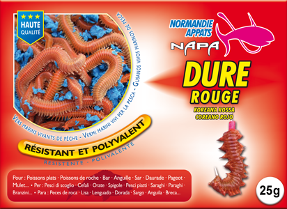 Dure rouge 25 g