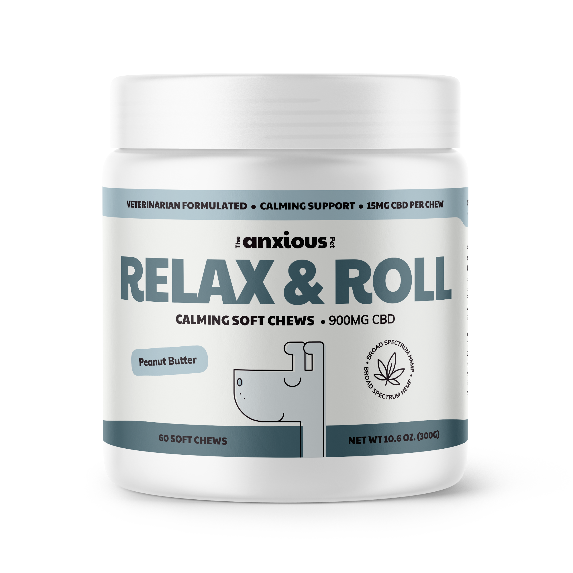 Relax & Roll Soft Chews with CBD