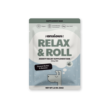 Load image into Gallery viewer, Relax & Roll Supplement Bars with CBD (5 Pack)