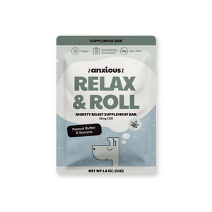 Relax & Roll Supplement Bars with CBD (5 Pack)