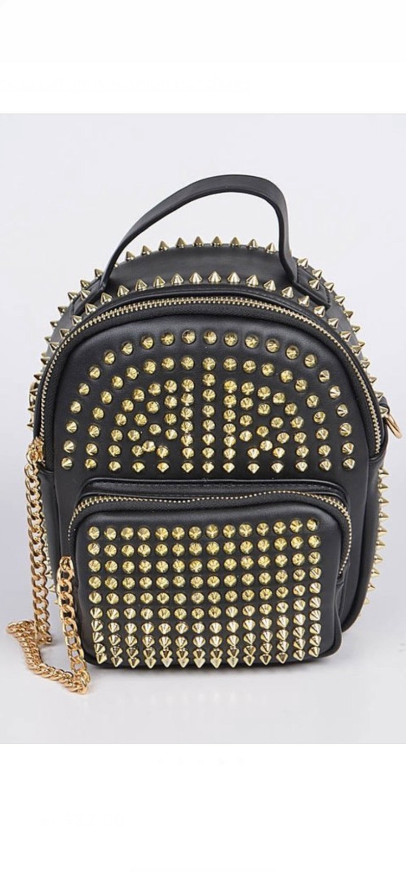 Spiked Backpack