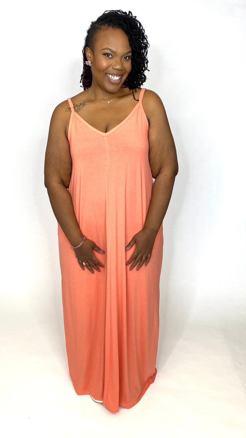 Maxi Sundress w/ Pockets