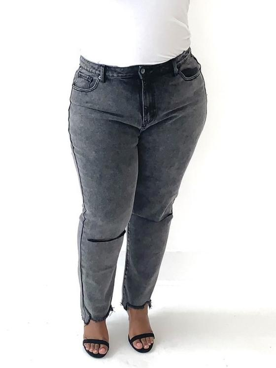 Stone Washed Skinny Jeans