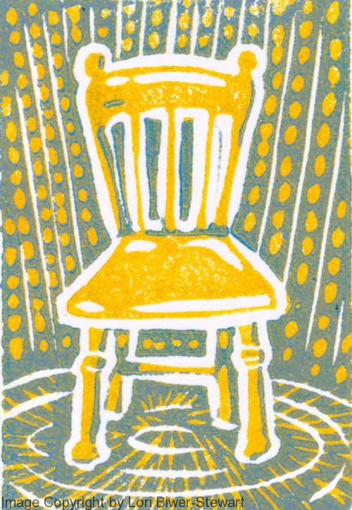 Yellow Chair by Lori Biwer-Stewart