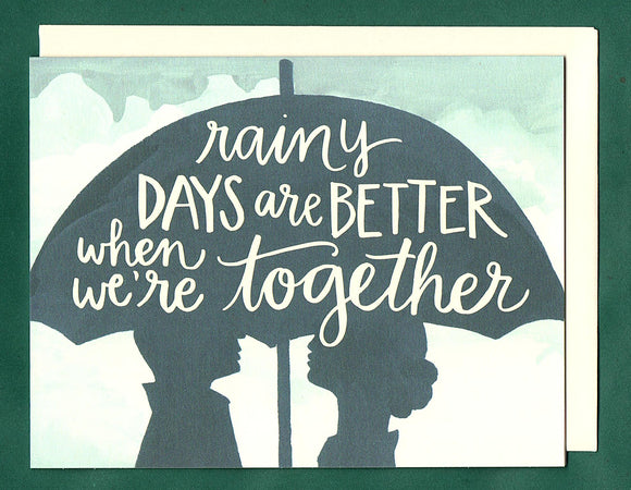 Better Together Love Card by 1canoe2