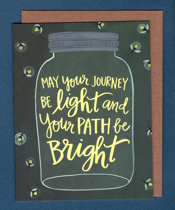 Bright Path Card by 1canoe2