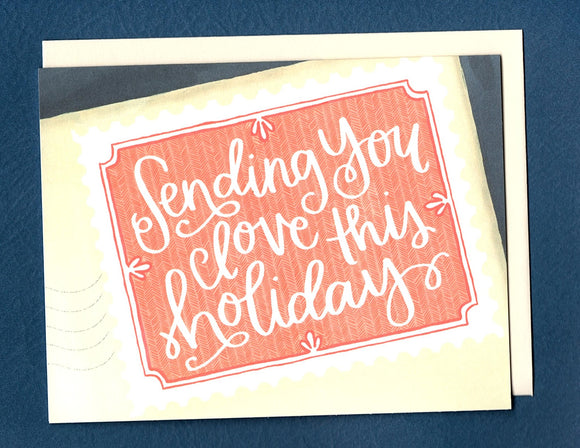 Sending Love Holiday Card by 1canoe2