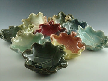 Little Leaf Bowl by Bluegill Pottery