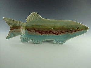 Fish Platter by Bluegill Pottery
