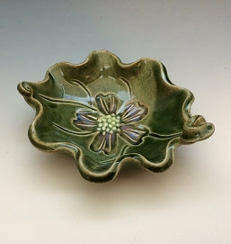 Cherry Blossom Bowl by Bluegill Pottery