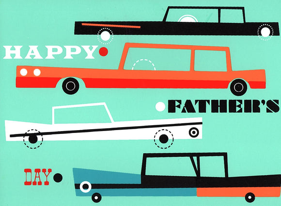 Father's Day Cars Greeting Card from Great Arrow Cards