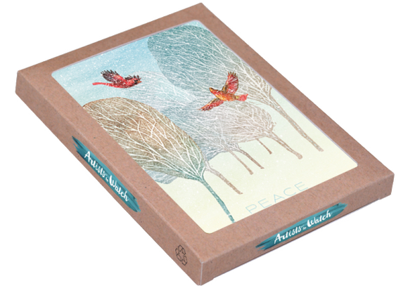 First Snow 12 Holiday Card Boxed Set by Artists to Watch