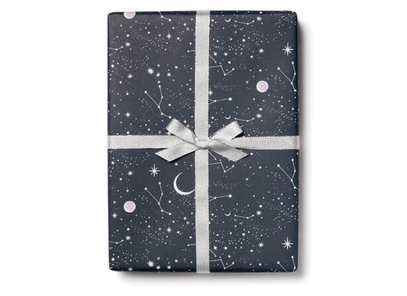 Moon and Stars Wrapping Paper by Red Cap Cards