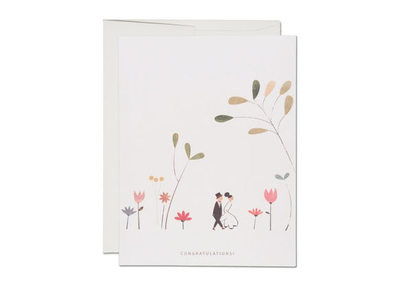 Perfect Wedding Greeting Card from Red Cap Cards