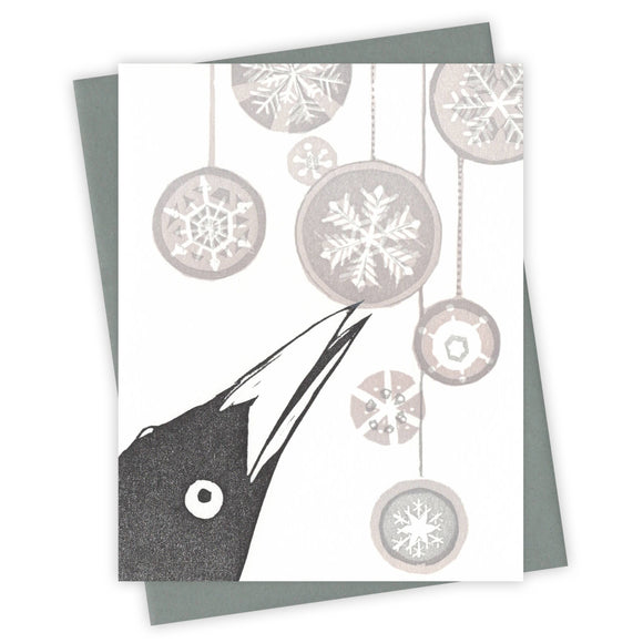 Wonderland Grackle Card by Burdock & Bramble