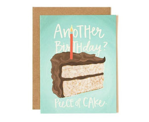 Piece of Cake Card by 1canoe2