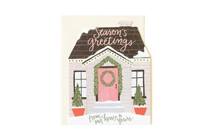 Holiday House Card by 1canoe2