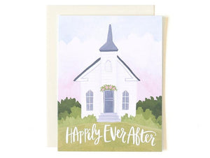 Wedding Chapel Card by 1canoe2