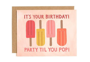 Popsicle Birthday Card by 1canoe2