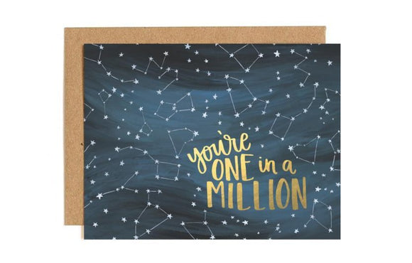 One in a Million Card by 1canoe2