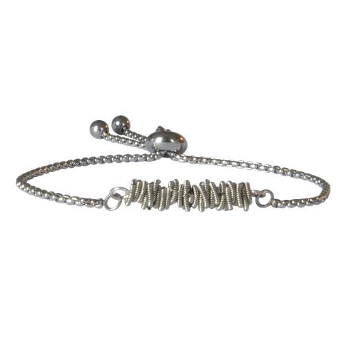 Silver Aria Bracelet by High Strung Studio