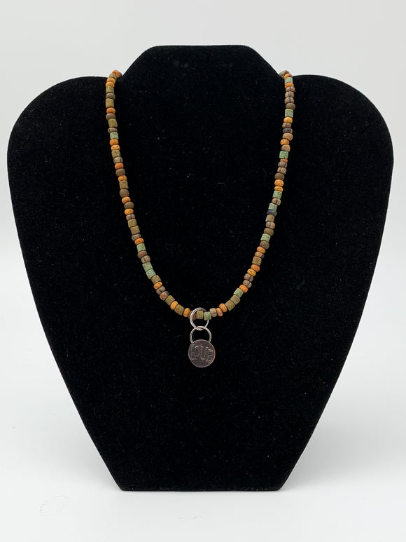 Love Charm Necklace by Lizbeth Doran